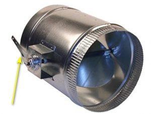 Modern HVAC Damper for AC/Furnace