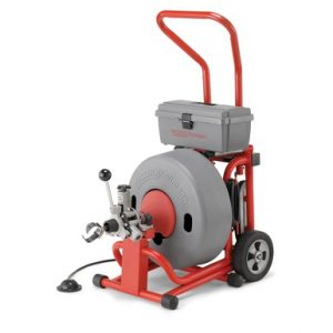 Exterior Sewer Drain Cleaning Machine