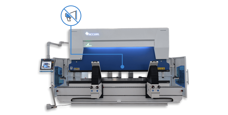 Remarkable Noise Reduction • Decrease production noise