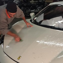 Smoothing out paint protection film