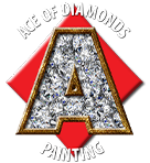 Ace of Diamonds Painting