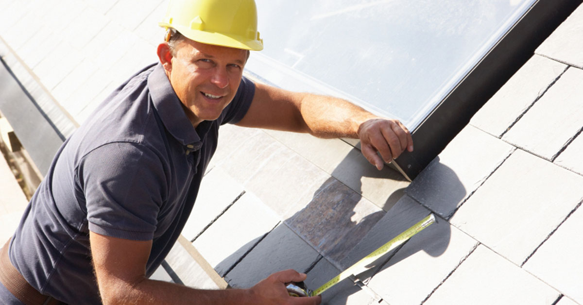 our roof repair expert on duty