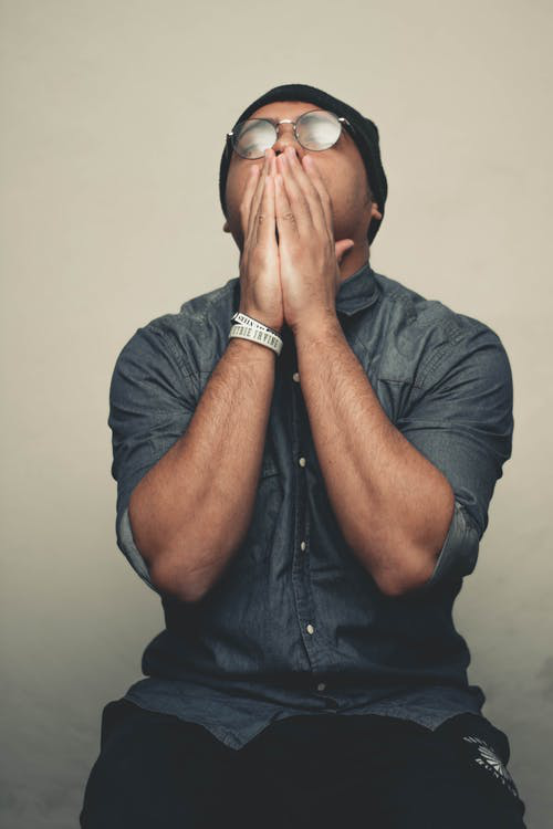 fatigued person