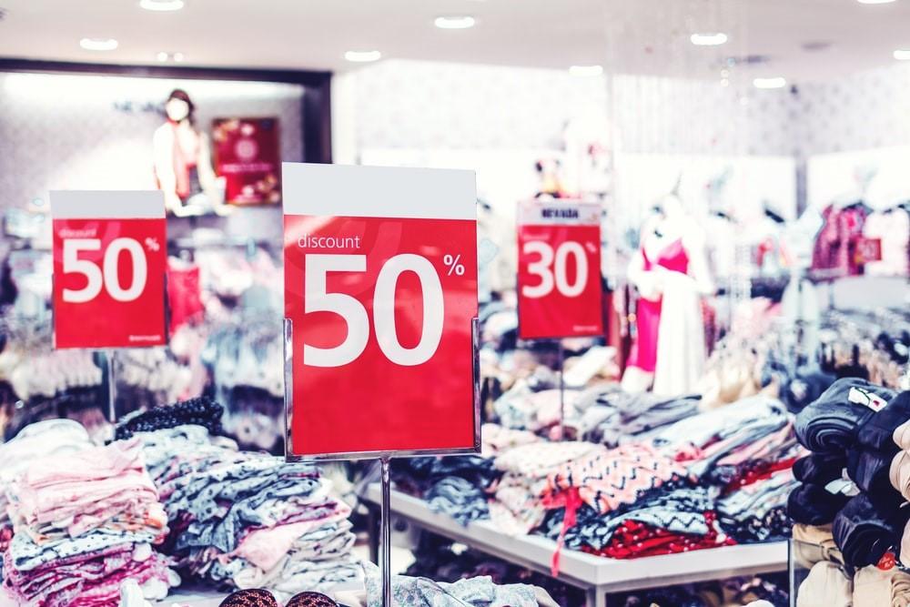 discounts in shops
