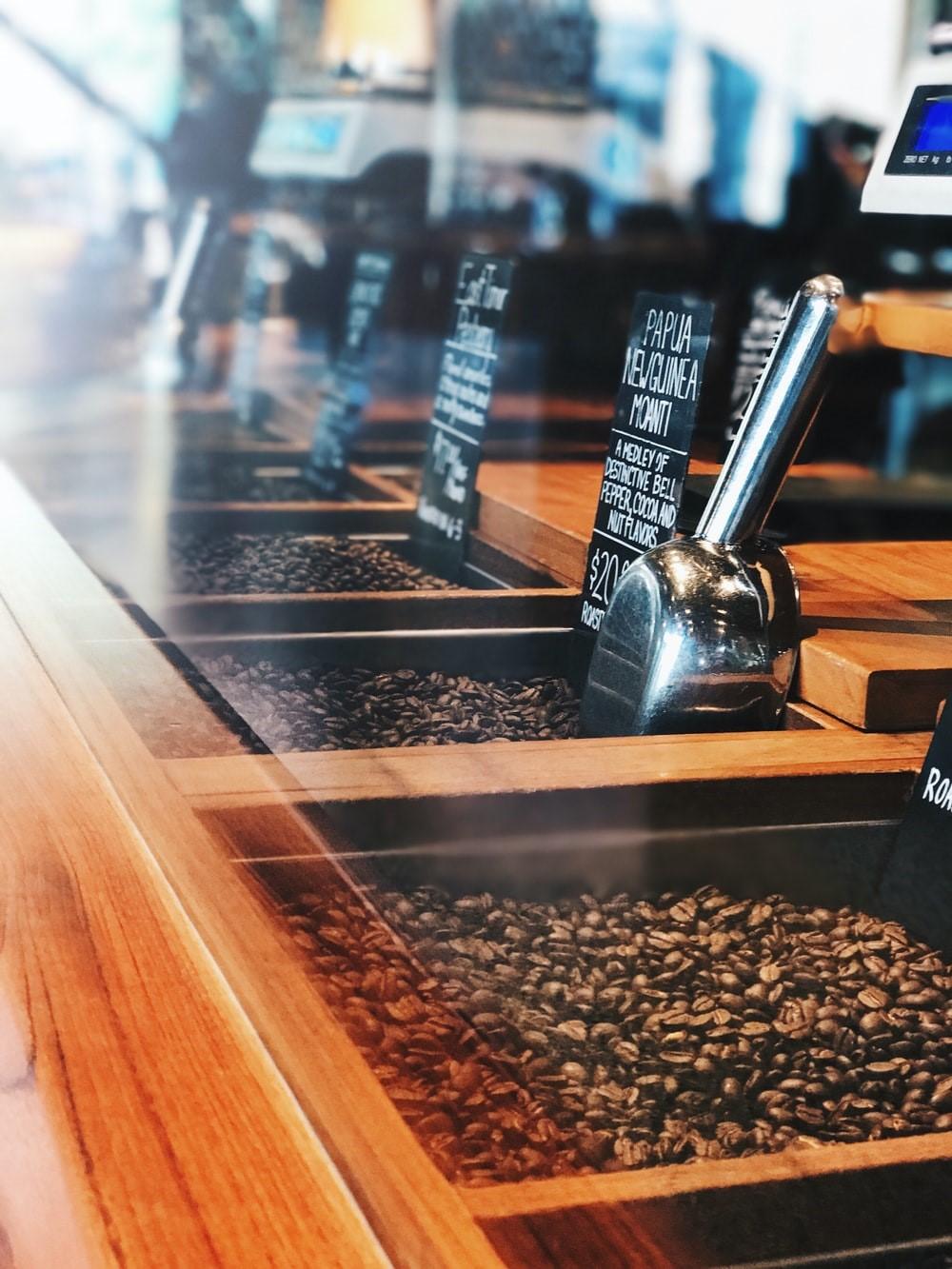 A coffee shop in Seattle