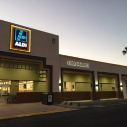 Exterior Lighting Installation for ALDI | AC Professional Electric