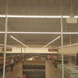 Supermarket Lighting Installation | AC Professional Electric