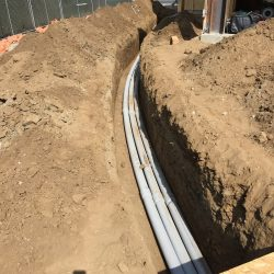 Arced Turn in Buried Electrical Cable Installation | AC Professional Electric