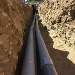 Electrical Cabling Trench Installation | AC Professional Electric