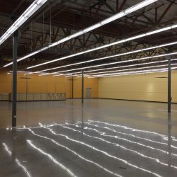 Commercial Light Installation in a Warehouse | AC Professional Electric