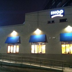 Exterior Lighting Installation for IHOP | AC Professional Electric
