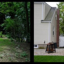 Patio Before and After Wapole
