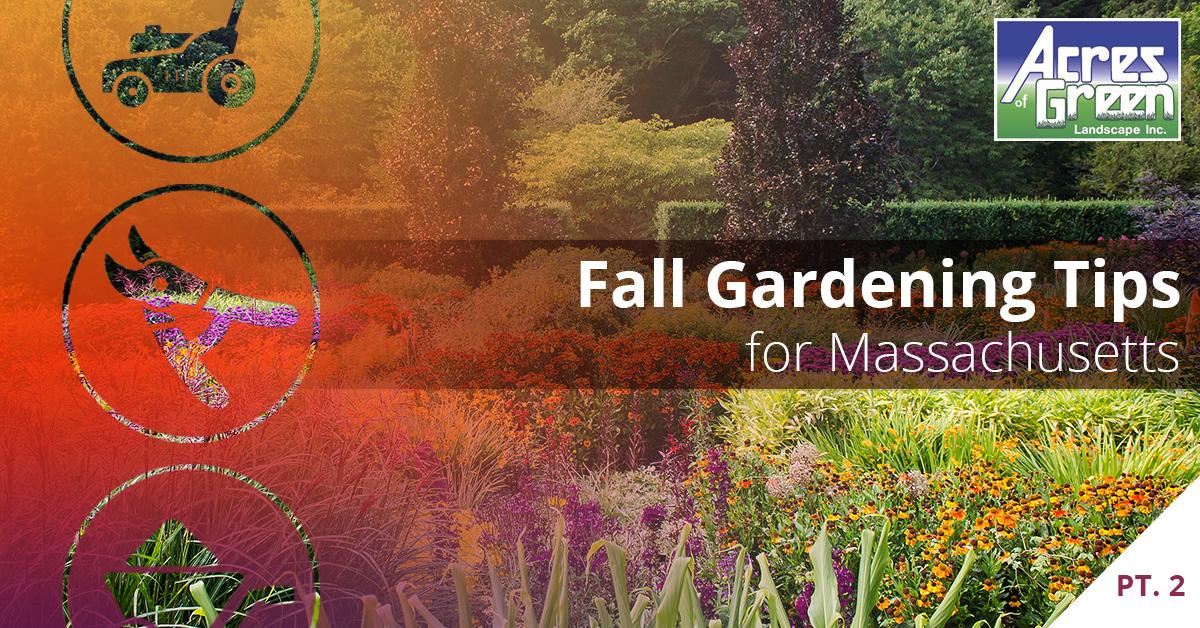 Garden Landscaping Service Walpole Fall Gardening Tips For