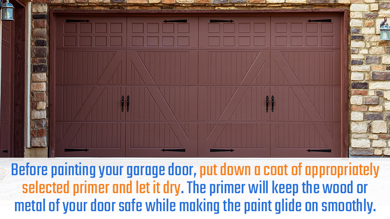Painting Your Garage Door: What You Need To Know | ACS