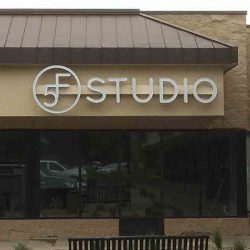 Commercial exterior sign for 5F Studio - Action Signs