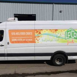 Custom vehicle wrap design - Action Signs