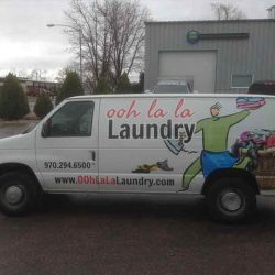 Professional van with vehicle wrap design - Action Signs