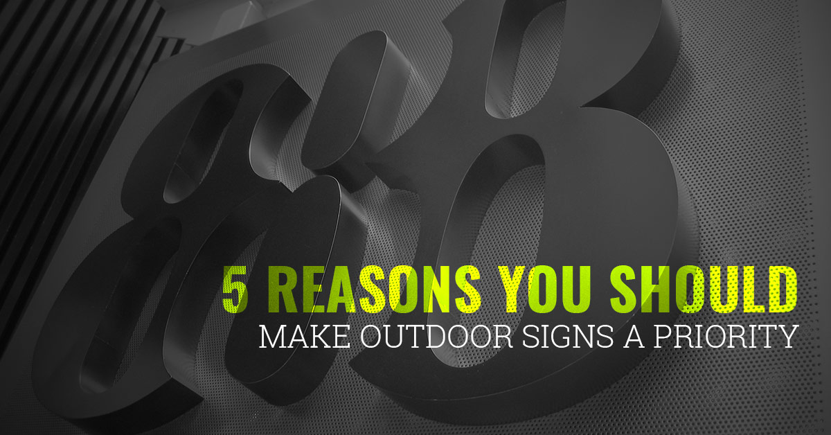 Lighted Outdoor Signs Fort Collins: Why You Should Boost Your Budget