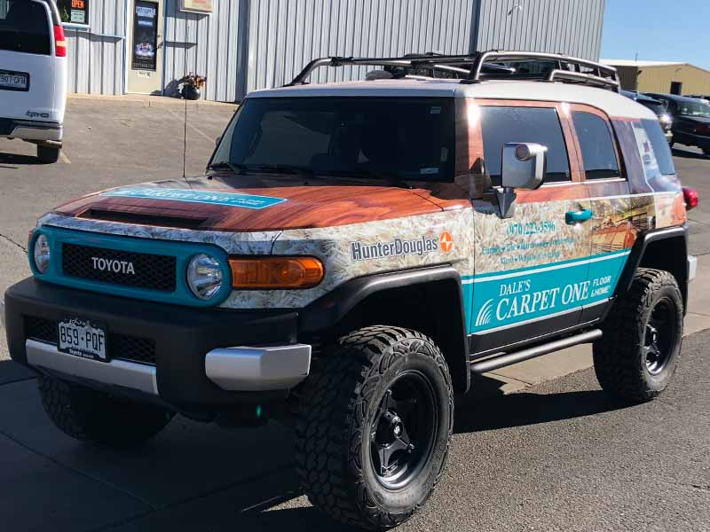 Vinyl Truck Wraps - Vehicle Wraps You Can Be Proud Of