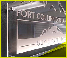 indoor light sign fort collins