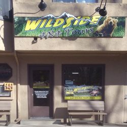 Outdoor business sign for WildSide 4x4 Tours - Action Signs
