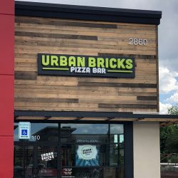 Outdoor business sign for Urban Bricks - Action Signs