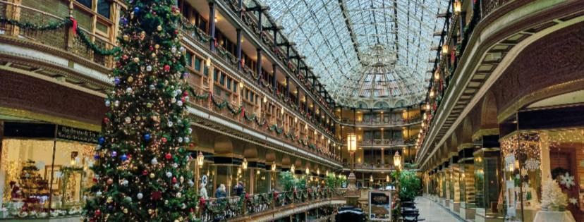Mall at Christmas Time