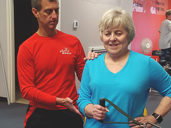 personal training, personal trainer, one-to-one training, senior fitness