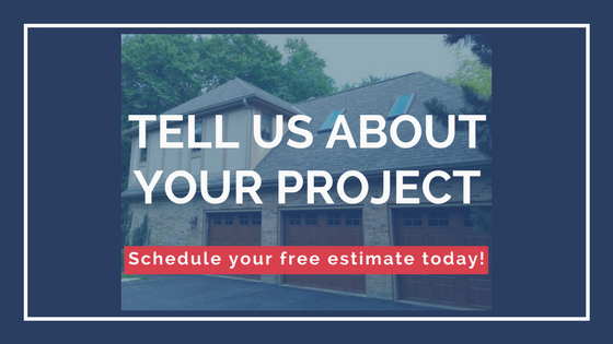 A call to action to tell us about your next siding project.