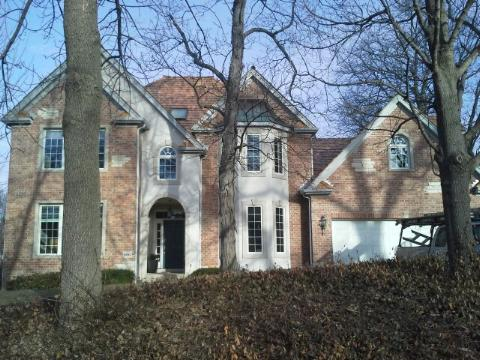 A Roof repair done in Hanover Park, IL.