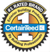Certainteed Roofing Materials Badge