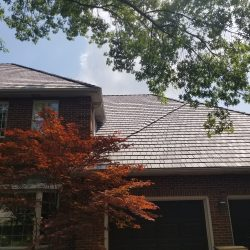 beautiful new roofing installation by adept construction in addison