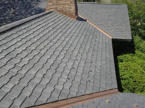 A shot of an Oak Brook roof.