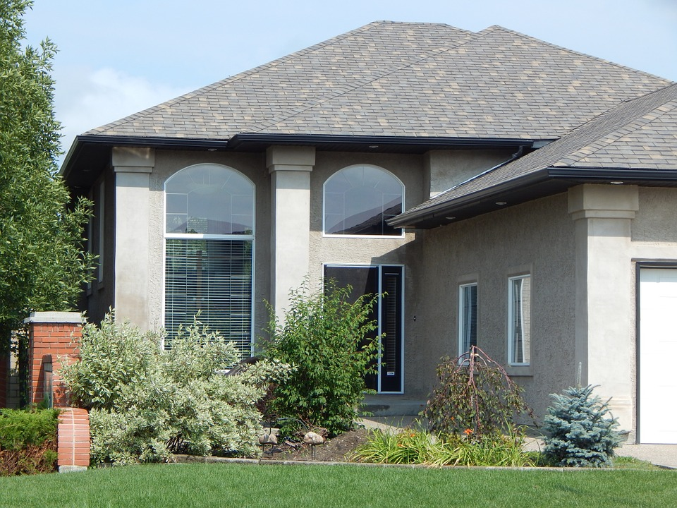 A home with a beautiful new roof in St. Charles.