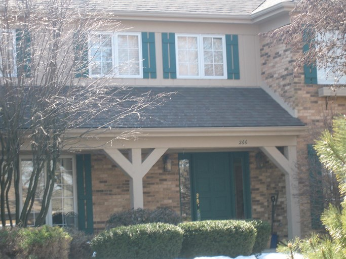 A home with a shingle roof in Lombard.