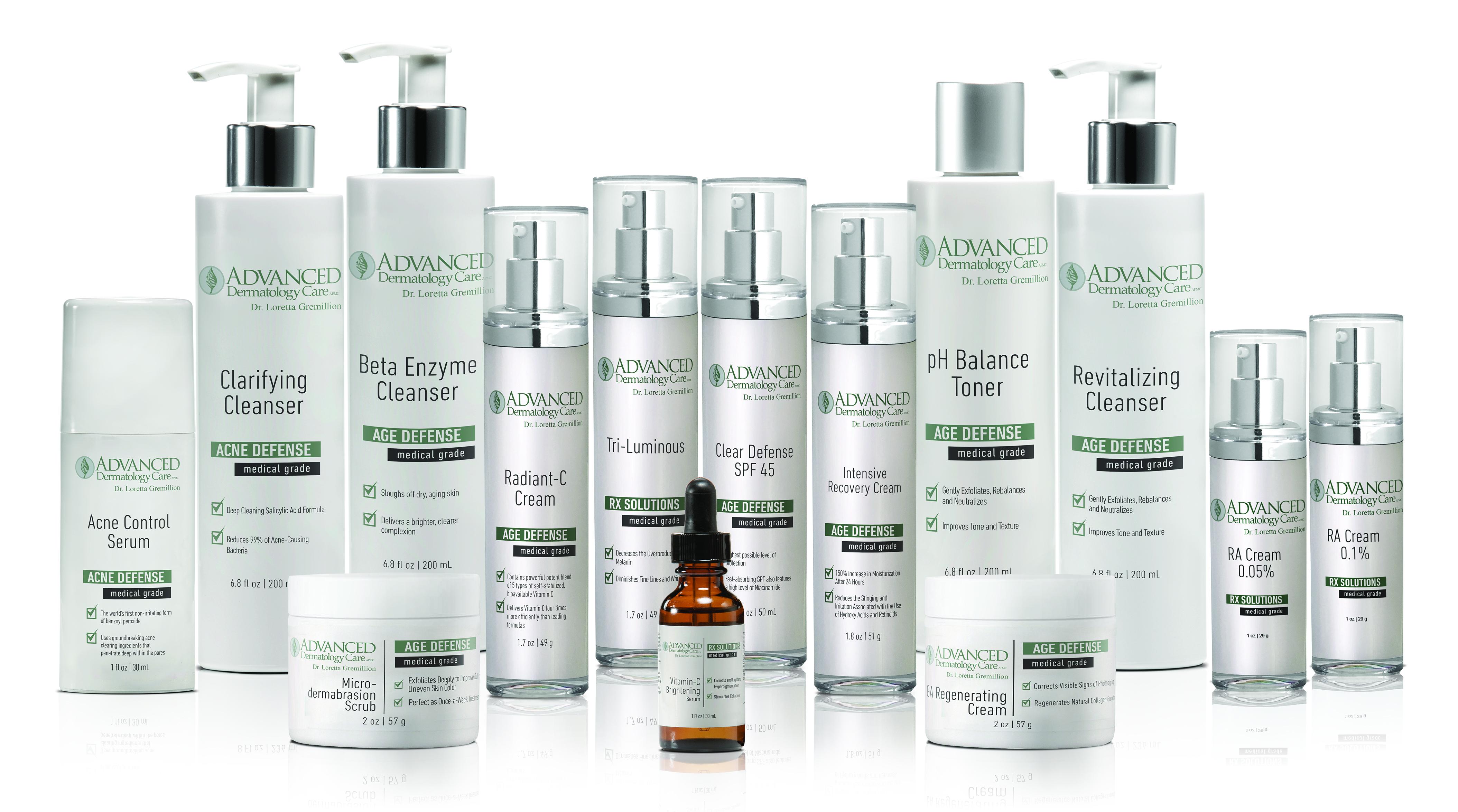 Skin Care Products Monroe Cosmetic Dermatology La Dermatologist