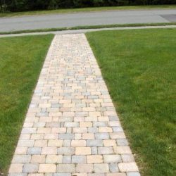 brick walkway landscape design