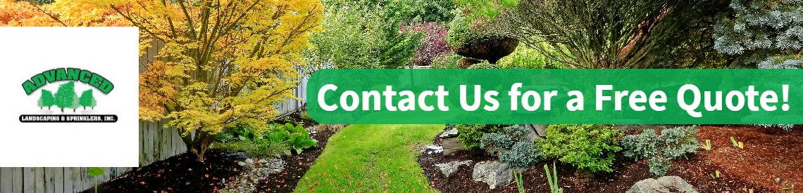 Free landscaping quote from advanced landscaping