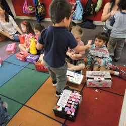 Kindergarten Class in Orange, CA-Valentine's Day and Friends-Adventures In Learning