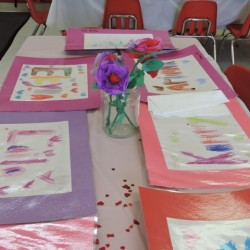 Child Development Center-Valentines Day Art Projects-Adventures In Learning