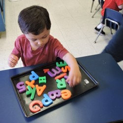 Child Development Center-Magnetic ABC-Adventures In Learning