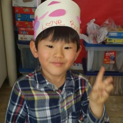 Preschool Program-Valentine's Day Hat-Adventures In Learning