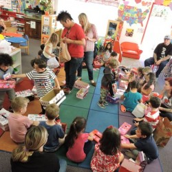 Kindergarten Class in Tustin, CA-Full Class V-Day Exchange-Adventures In Learning
