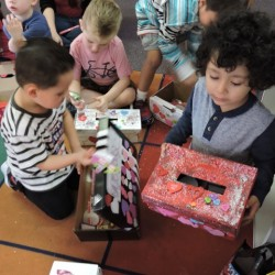 Kindergarten Class in Orange, CA-Valentine's Day, kids, and cards-Adventures In Learning