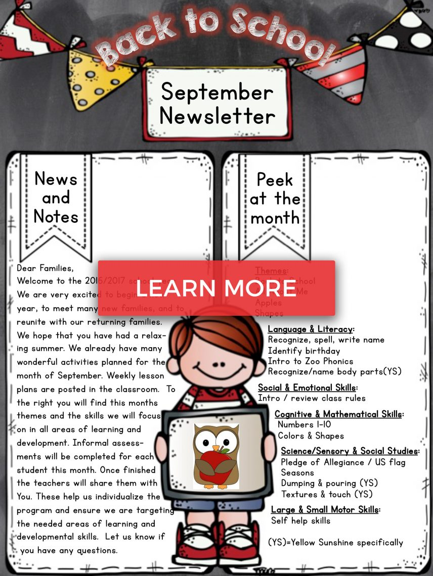 newsletter-september