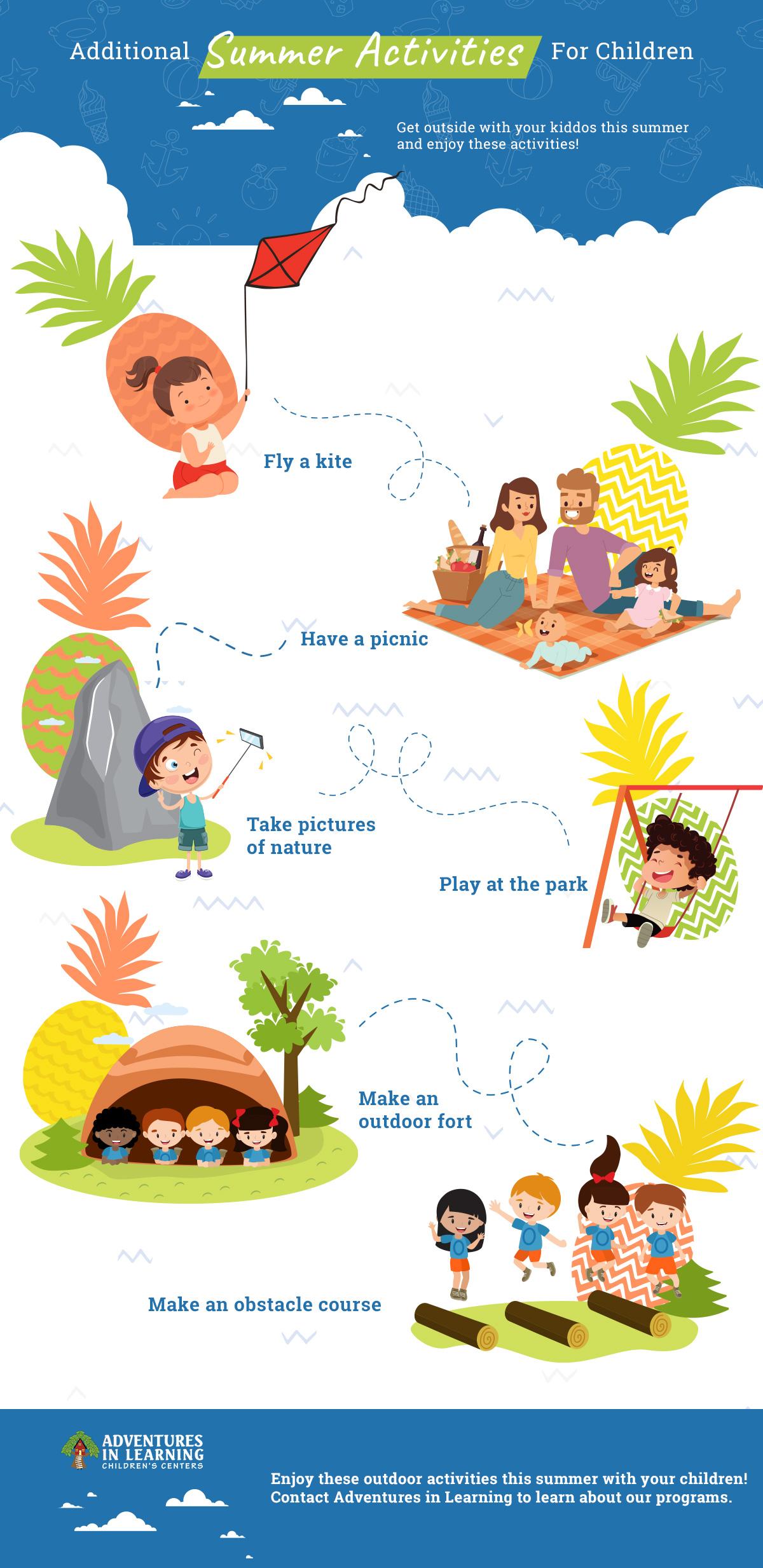 Additional Summer Activities for Children