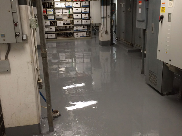epoxy floor coating by columbus commercial flooring contractors