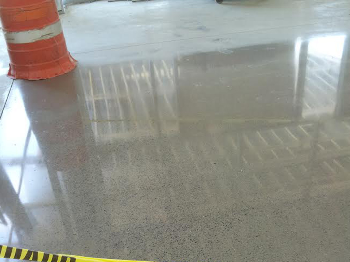 Aetna Integrated Services installs epoxy flooring