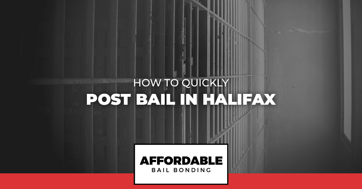 How To Quickly Post Bail In Halifax