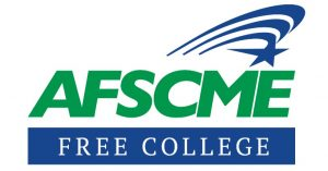 Image result for afscme free college logo
